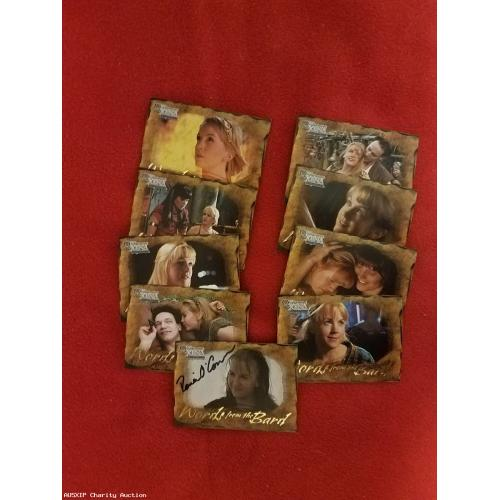Autographed Renee O'Connor Trading Card: Words From the Bard 9 Card Set [LB - HOB]]
