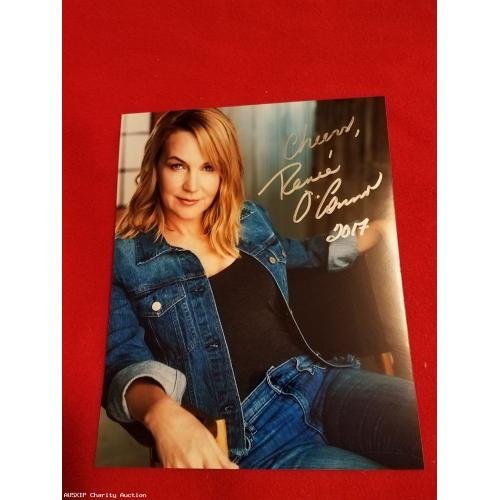Autographed Renee O'Connor 8 x10 #3 [LB - HOB]