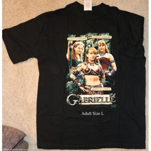 T-Shirt: Amazon Queen (Renee O'Connor - Gabrielle) T-Shirt [HOB]