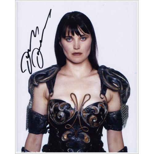 SUPER RARE: Autographed Lucy Lawless as Xena #7