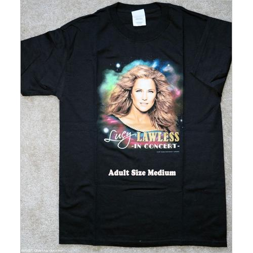 T-Shirt: Official Lucy Lawless in Concert T-shirt [Medium]