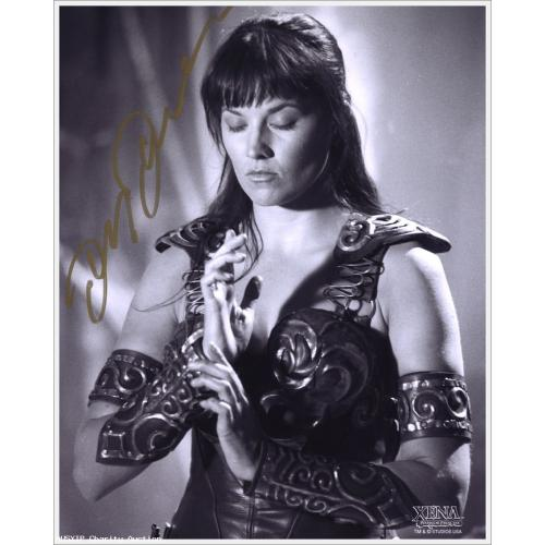 Autographed Lucy Lawless as Xena #5 (A Day In The Life)