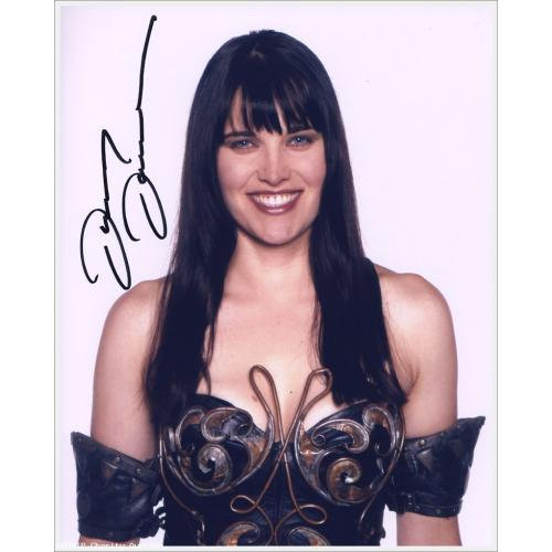 Autographed Lucy Lawless as Xena #8