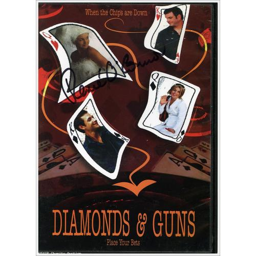 Autographed Renee O'Connor Diamonds and Guns DVD [HOB]