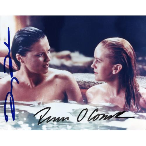 Autographed Lucy Lawless and Renee O'Connor Tub Scene