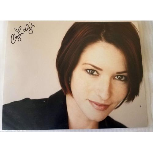 Supergirl: Autographed Chyler Leigh (Alex Danvers) 10 x 8 Photo (LB)