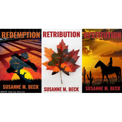Print: Three Book Series: Ice & Angel Series 2019 Edition by Susanne M. Beck [MD]