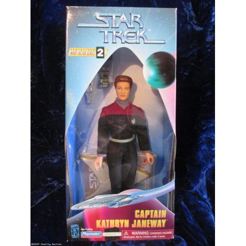 Captain Janeway Action Figure Season 2 From Playmates