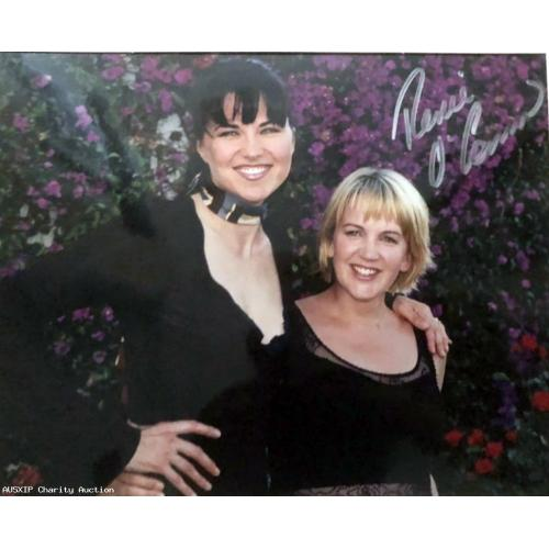 Autographed Renee O'Connor & Lucy Lawless 10 x 8 [HOB]